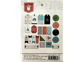 Fancy Pants Designs Holiday Hustle Tags & Labels Ephemera #2858 image 2