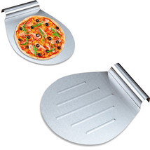 Pizza Shovel Spatula Cake Stainless Steel Pastry Holder Plate Tray Bakin... - $13.92