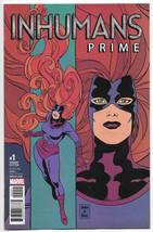 Inhumans Prime #1 NM+ 1:25 Brigman Classic Variant 1st Print 2017 Marvel... - $4.94
