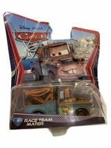 Disney Pixar Cars Race Team Mater Unused Unopened Damaged Box 2010 - $9.89
