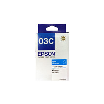 Cyan Ink - Epson 03C Ink Cartridge (for WorkForce WF-2861) - $25.99
