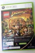 Indiana Jones/Kung-Fu Panda Lego Xbox 360 Game Box And Manual Family Col... - $19.99