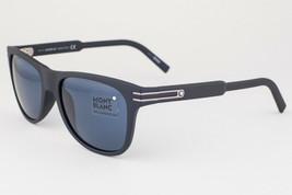 MONTBLANC Black / Blue Sunglasses MB641S 02V 641S - $175.42