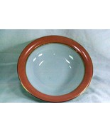 Gracious Living Apricot Frost Round Serving Bowl - $13.85