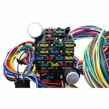 21 Circuit Wiring Harness Street Hot Rat Rod Custom Universal Wire Kit XL WIRES image 3