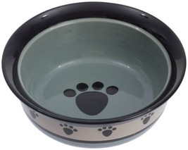 Petrageous Designs Metro Hand-crafted Stoneware Deep Pet Bowl, 8 x 3-Inc... - $54.27