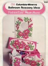 Bathroom Accessory Ideas Iris Tissue Covers, Wall Mirror Plastic Canvas ... - $1.77