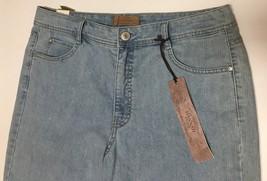 Women's Bermuda Jeans Shorts Sz 14 Hannah Denim image 3