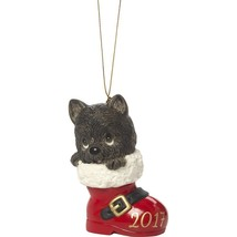 2017 Dog Ornament Precious Moments Have Pawsitively Soleful Christmas Bo... - $25.73