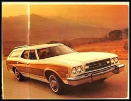 1973 Ford Station Wagon Sales Brochure, Galaxie Torino - $5.69