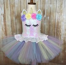 Unicorn Tutu, Unicorn Dress, Girls Unicorn Tutu, Unicorn Costume - $60.00+