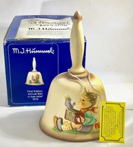 Hummel First Edition Annual Bell 1978, Hum 700, Goebel, Let's Sing, Perfect - $33.77