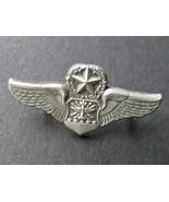 US Air Force Navigator Master Observer USAF Wings Lapel Pin Badge 1.25 I... - $4.85