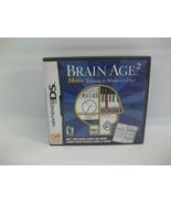 Brain Age 2 Nintendo DS Game CIB Complete - $5.96