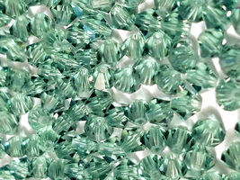25pcs 3mm SWAROVSKI CRYSTAL FACETED BICONE BEADS - You Choose the Color image 7