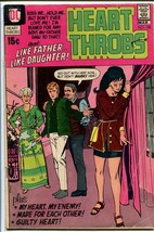 HEART THROBS #130-DC ROMANCE-RARE LATE ISSUE -LOVE G/VG - $17.38