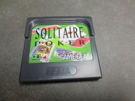 Solitaire Poker (Sega Game Gear, 1991) - $6.79