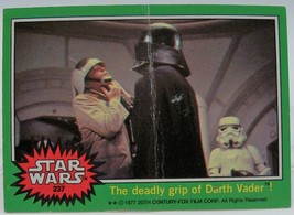 1977 Star Wars Series Four (Green Border) Trading Card #237 - $0.98