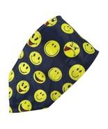 Roberto Cellini Smiling Happy Faces Polyester Tie Necktie - $9.89