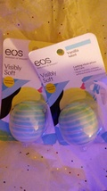 New EOS Vanilla Mint Lip Care 2 Packs evolution of smooth Visibly Soft .... - $8.00