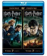 Harry Potter and the Deathly Hallows 1 & 2 (Blu-ray) - $9.95