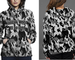 Military camouflage military we re all doomed hoodie fullprint zipper women thumb155 crop