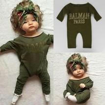 Cute Newborn Kids Baby Girl Long Sleeve Romper Jumpsuit One-piece Summer... - $20.00