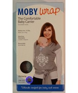 New! Moby Wrap The Comfortable Baby Carrier - Victoria Gray 100% Authentic - $44.99