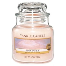 Yankee Candle Pink Sands 3.7-Ounce Jar Candle, Small - $12.66
