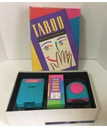 TABOO Board Game by Parker Brothers- 1989- Complete! Gently used- Tested... - $24.26