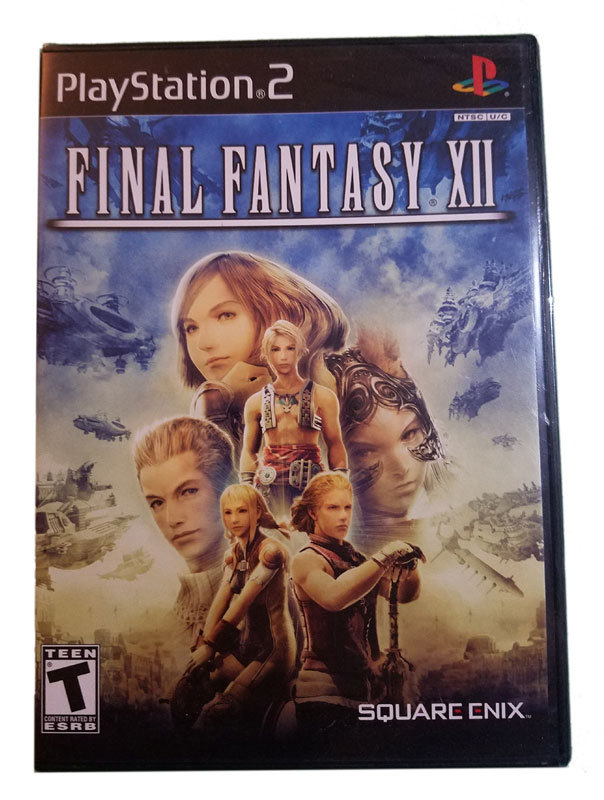 Final Fantasy XII / 12 New Sealed Black Label Playstation 2 Game * Square Enix