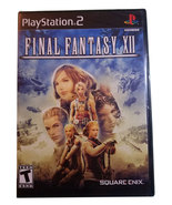 Final Fantasy XII / 12 New Sealed Black Label Playstation 2 Game * Squar... - $19.88