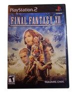 Final Fantasy XII / 12 New Sealed Black Label Playstation 2 Game * Squar... - $19.88
