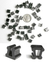48 TYCO HO Slot Car Track Side By Side +Banner Plastic CLIPS Works OnMany tracks - $9.89