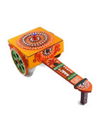 Wooden Handmade Hand painted Rath Decorative Artistic - $48.99