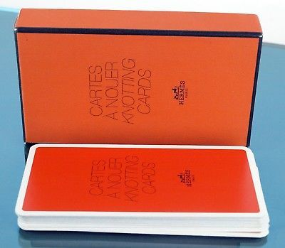 Hermes Cartes a Nouer Foulard Scarves Guide 21 Knotting Cards HOW TO Knott Scarf