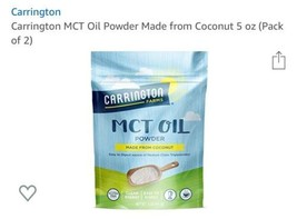 Carrington MCT Oil Powder Made from Coconut 5 oz (Pack of 2) - $29.67