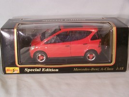 1997 Mercedes-Benz A-Class 1:18 scale diecast Special Edition Maisto - $40.23