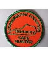 KENTUCKY patch SAFE HUNTER Conservation Education - $10.88