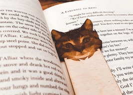 Engraved Cat Bookmark - $10.00