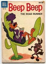 Four Color Comics #1046-Beep Beep the Road Runner Warner Bros VG- - $31.04
