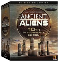 Ancient Aliens Complete Series Season 1-10 Anniversary Ed 2009-2017 DVD New - $69.95