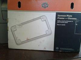 Harley Chrome License Bracket / Frame P/N: 59863-94T image 5