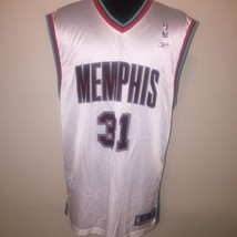 Memphis Grizzlies Basketball Jersey Reebok XL Shane Battier White Team A... - €44,04 EUR