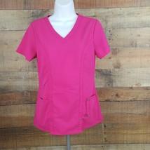 Dickies Scrub Top Women's Pink Size XS  D263 - $11.87