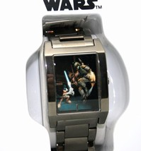 Star Wars Watch Disney Park Mickey Limited Ed 500 Made Grey Ion Finish W... - $2.217,81 MXN