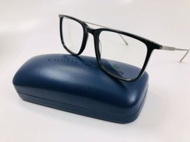 New LACOSTE L2827 001 Black Eyeglasses 52mm with Case - $58.36
