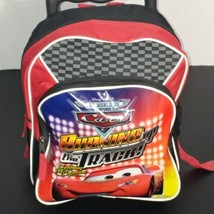 Disney Pixar Cars Bookbag W Wheels & Handle - $8.98