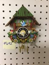 Genuine Black Forest Miniature Clocks #692 Cuckoo Clock Theme - $31.99