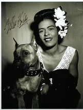BILLIE HOLIDAY Autographed Authentic Signed Photo w/COA - 72632 - $1,125.00